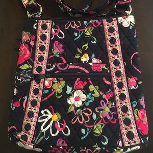 Vera Bradley hipster Ribbons pattern